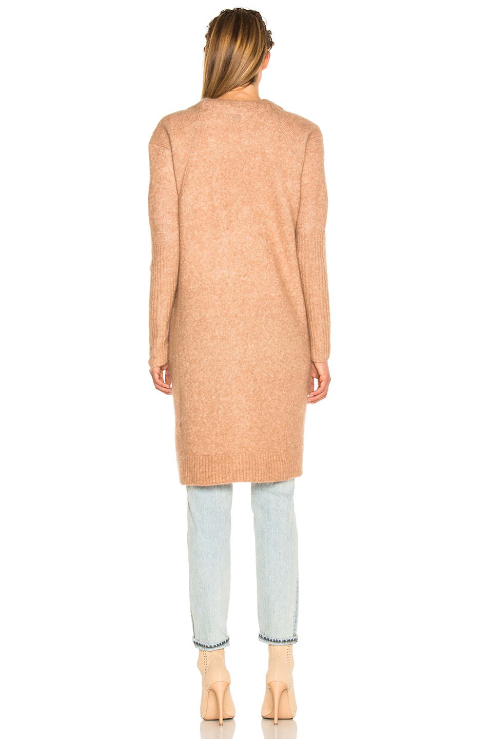 Image 4 of Acne Studios Raya Sweater in Camel Beige