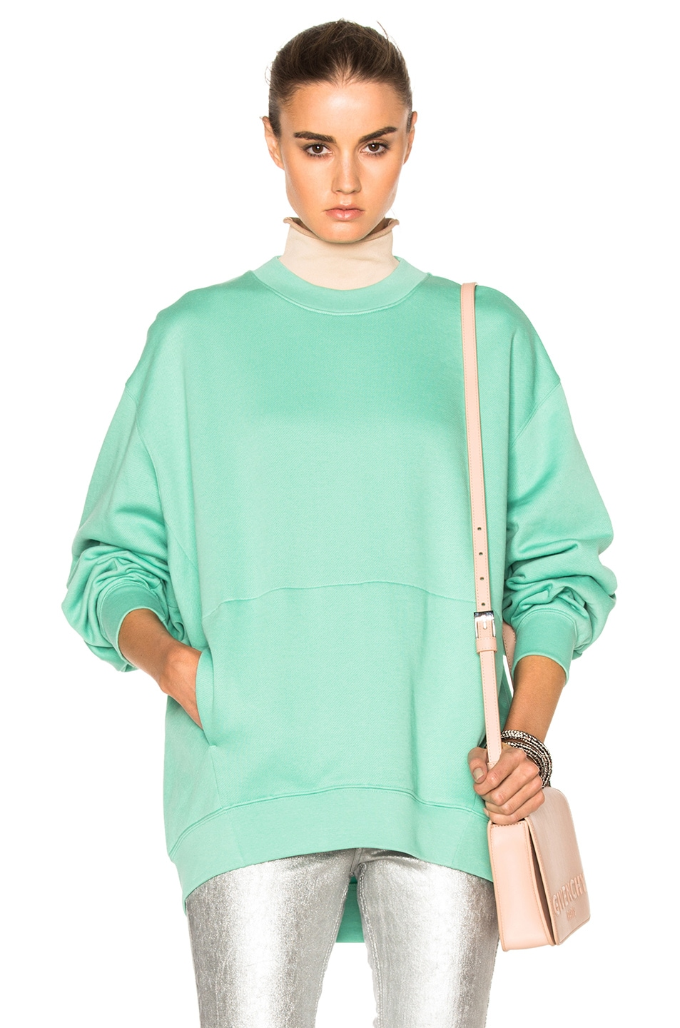 Image 1 of Acne Studios Karvel Sweater in Green
