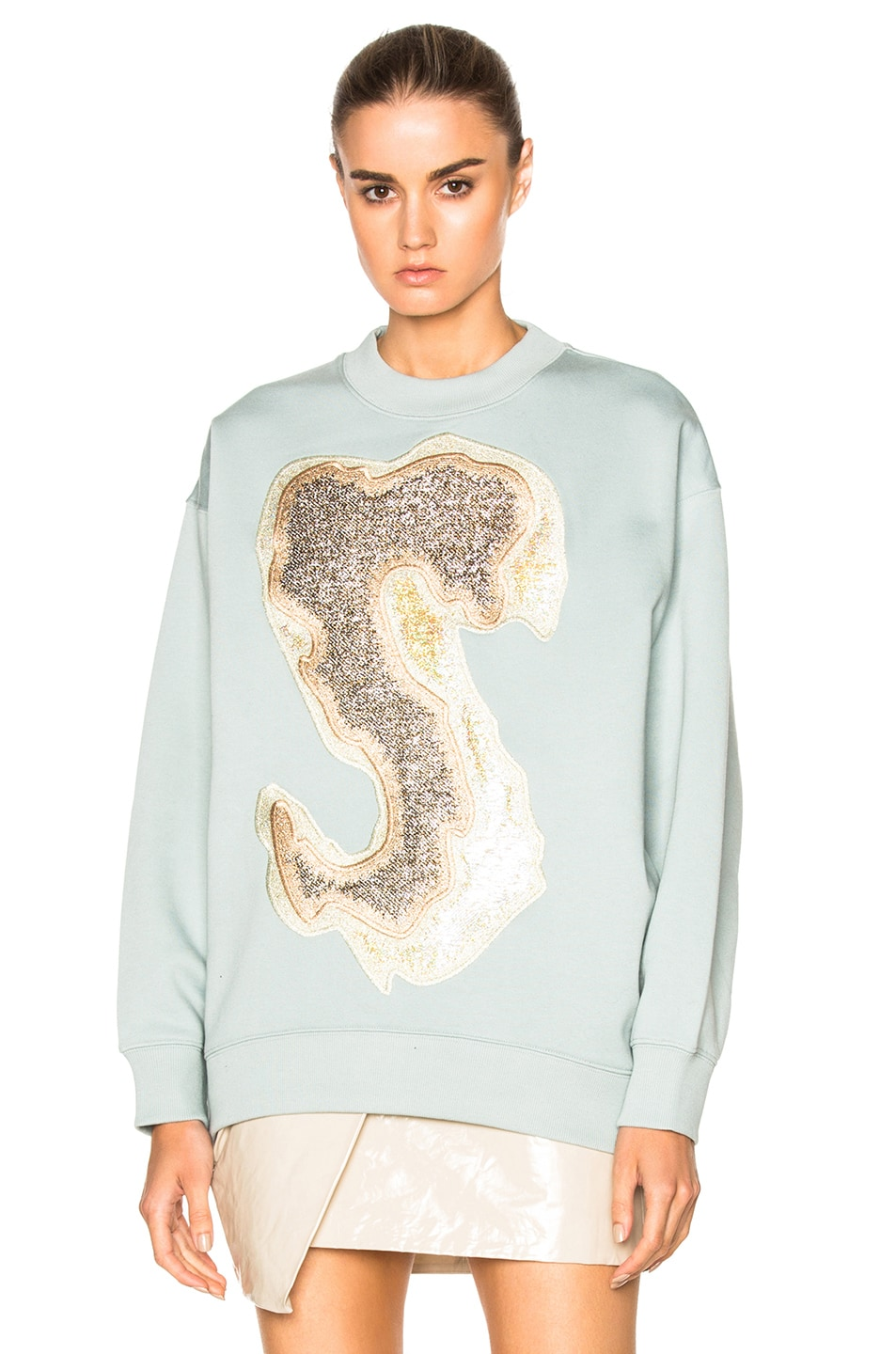 Acne Studios Sweater in Ice Blue | FWRD