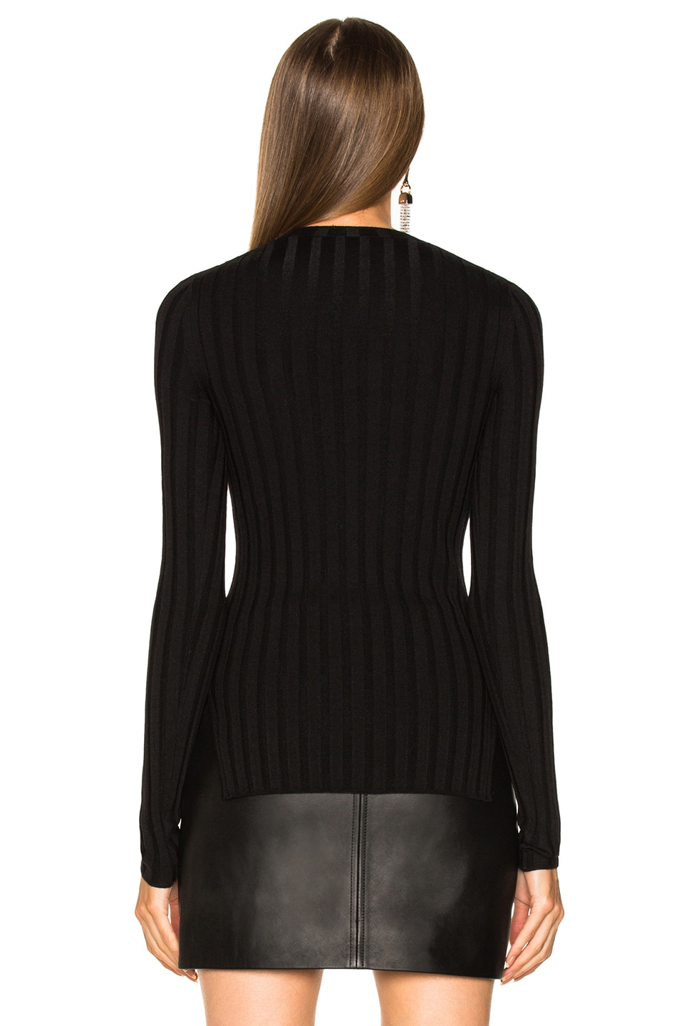 Carina Knit Top in Black Acne Studios New Sale Online For Cheap Buy Cheap Free Shipping b9fFzHi