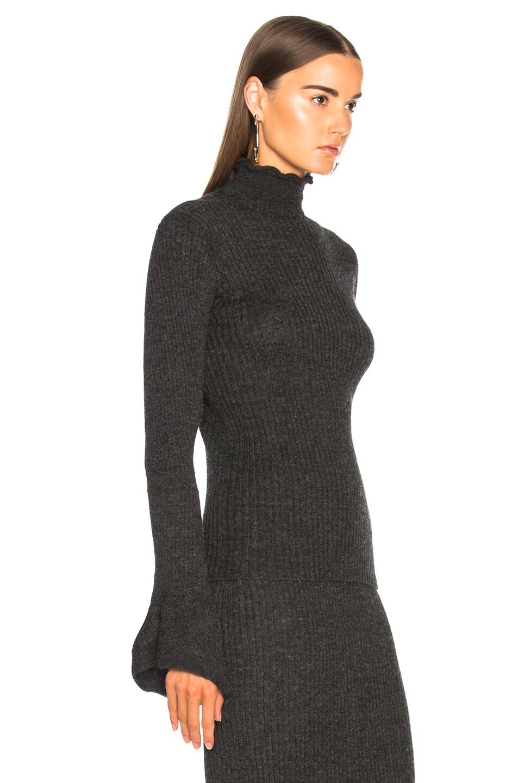 Acne Studios Raine Sweater in Charcoal Grey | FWRD