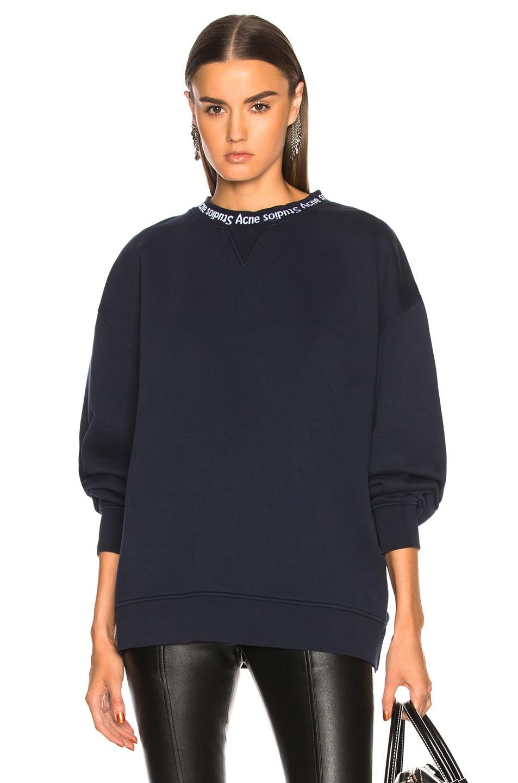Image 1 of Acne Studios Yana Sweater in Midnight Blue