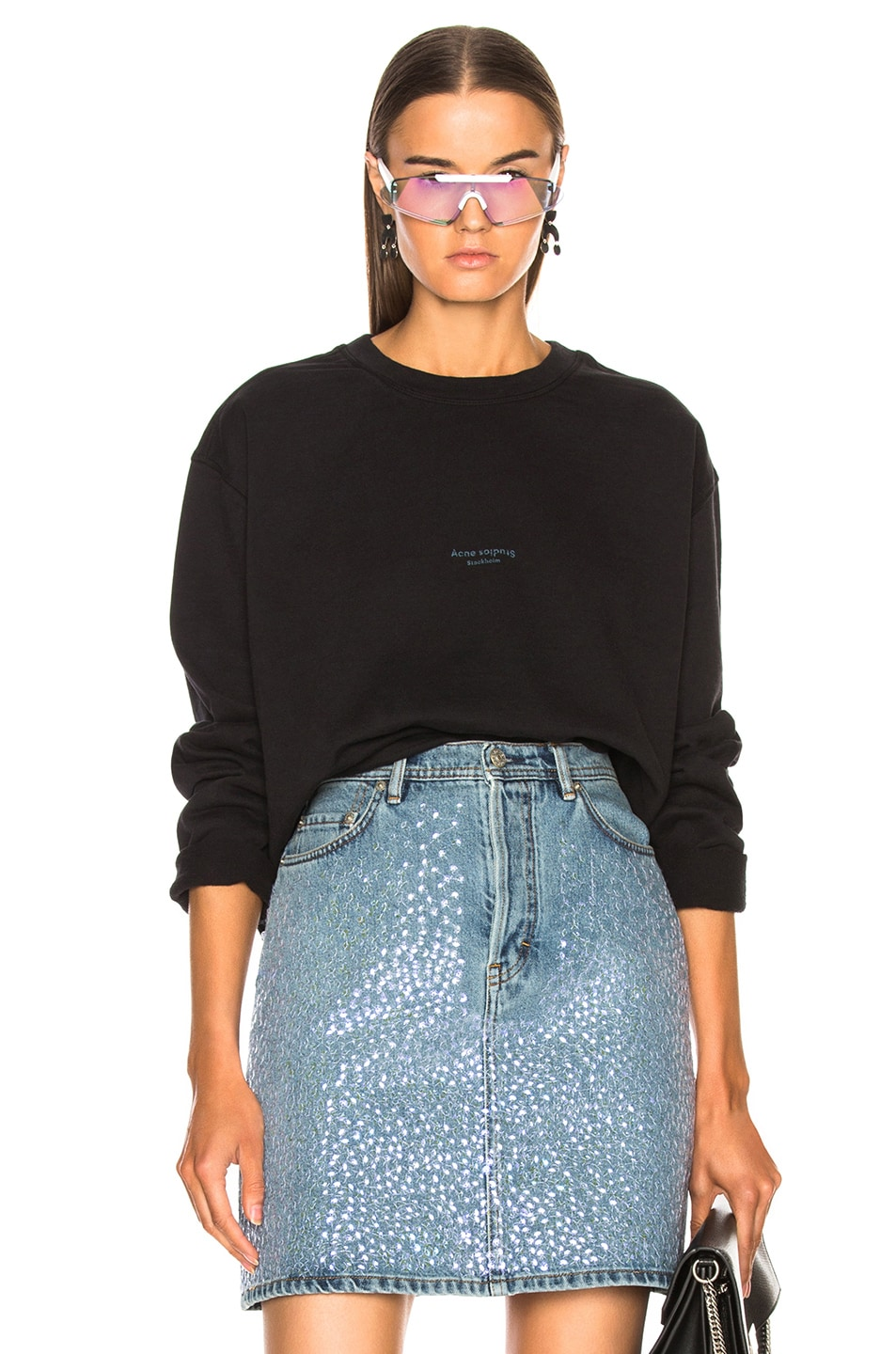 Image 1 of Acne Studios Odice Sweater in Black