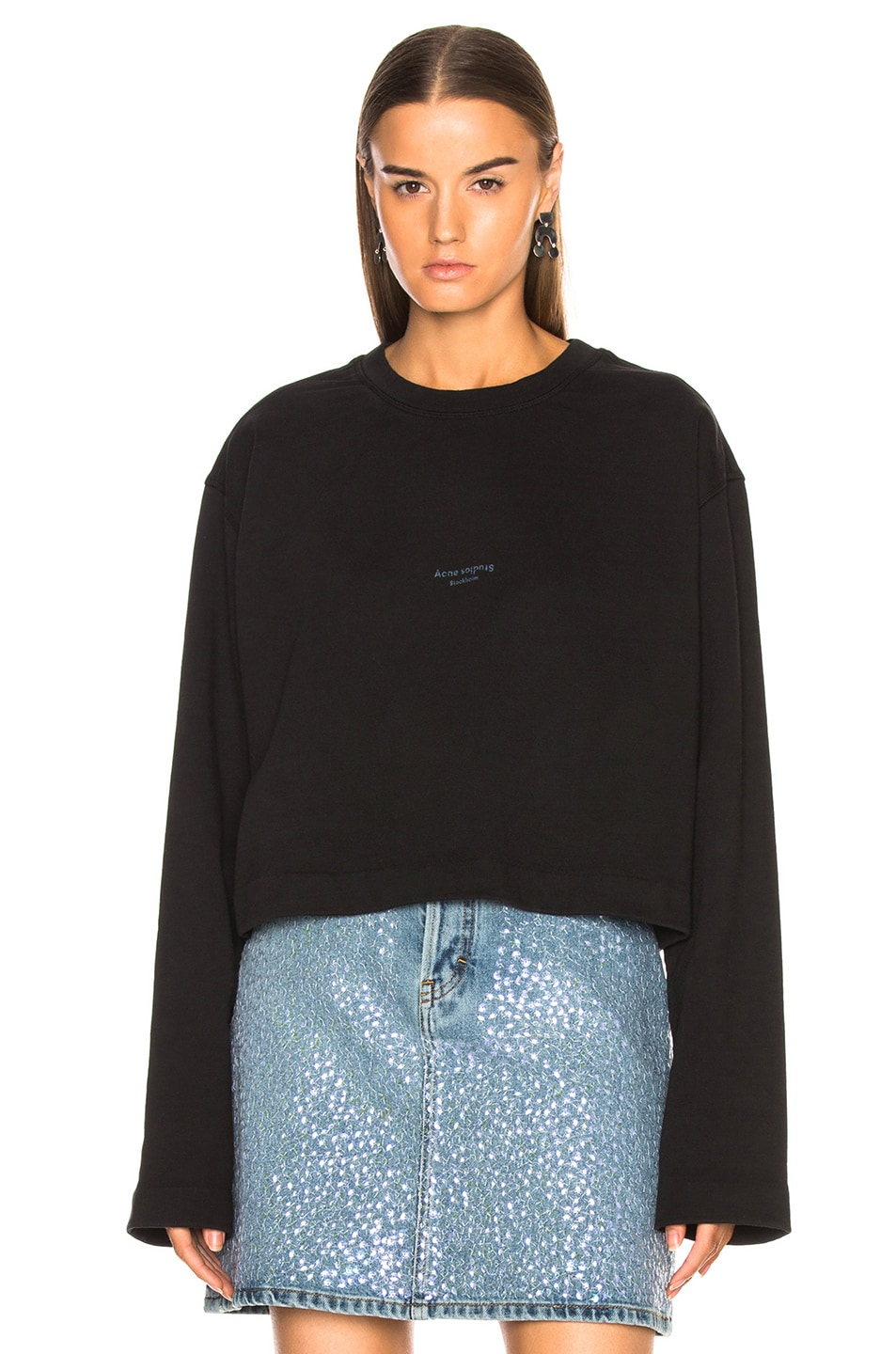 Image 2 of Acne Studios Odice Sweater in Black