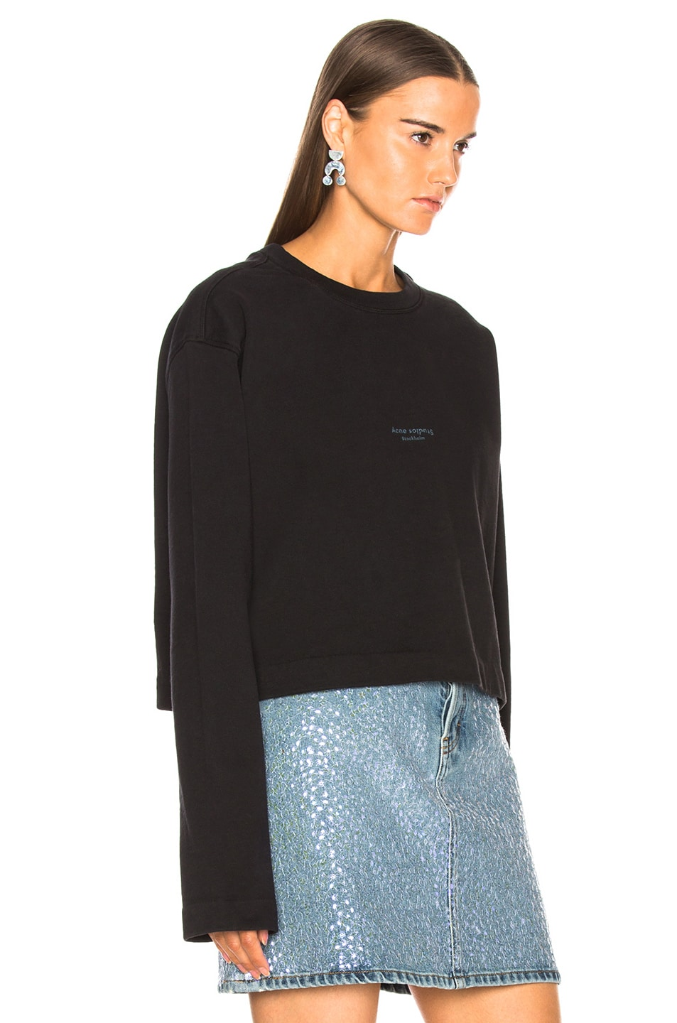 Image 3 of Acne Studios Odice Sweater in Black