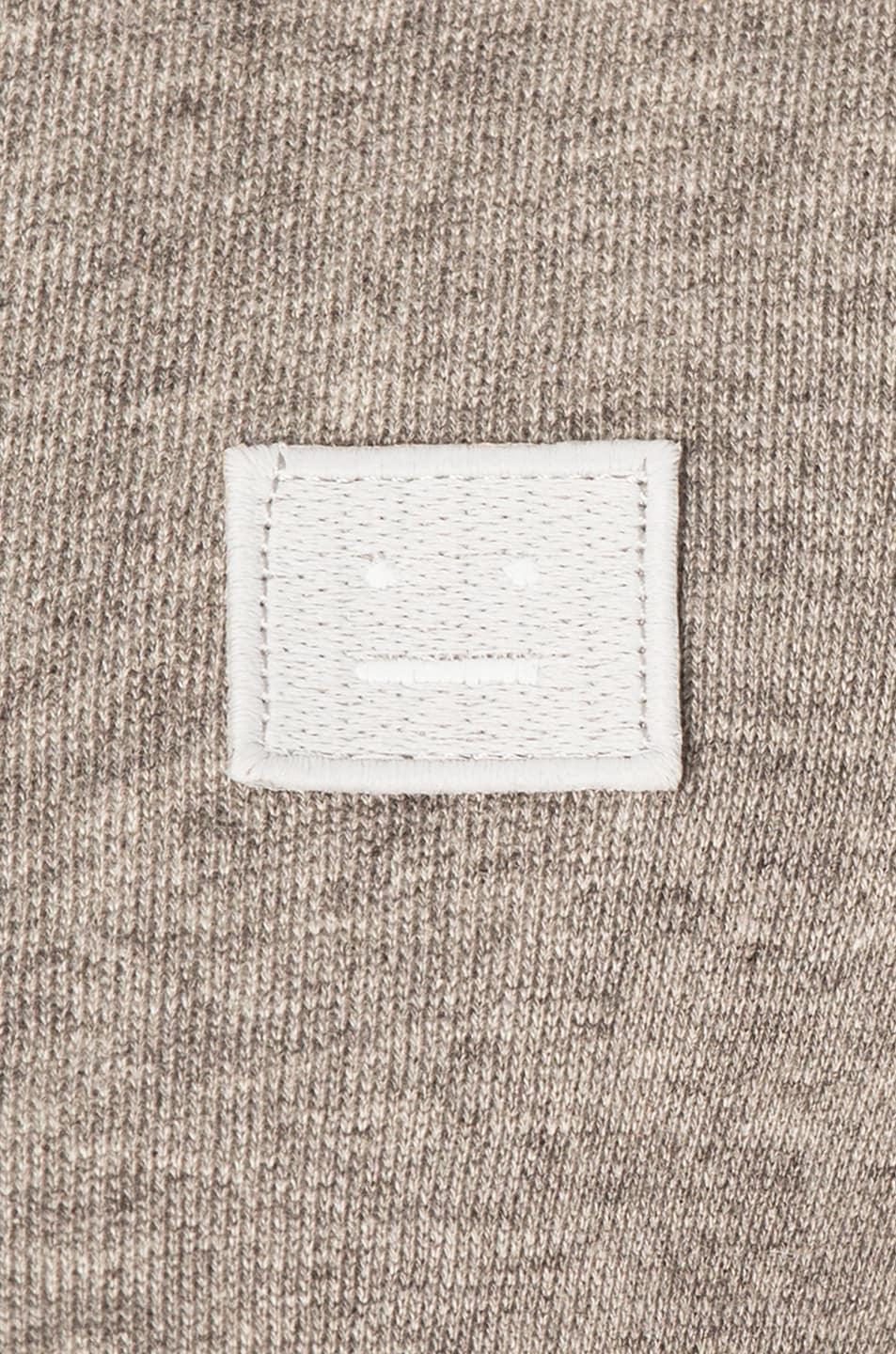 Image 5 of Acne Studios Fairview Face Sweater in Light Grey Melange