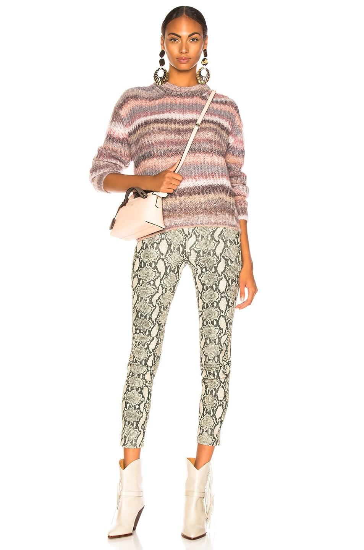 Image 5 of Acne Studios Striped Sweater in Grey Multi