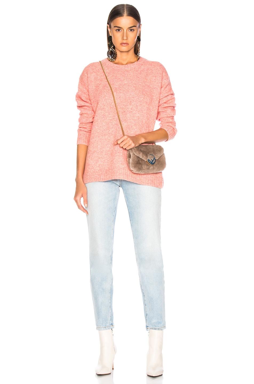 Image 5 of Acne Studios Samara Sweater in Peach Orange