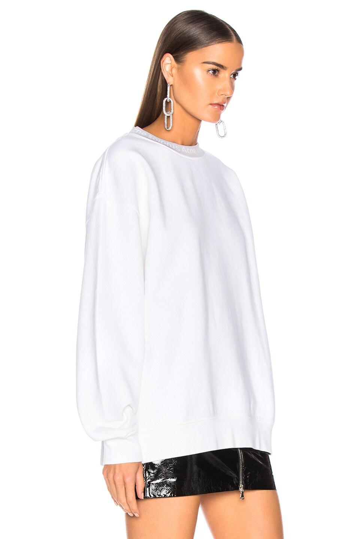 Image 3 of Acne Studios Yana Sweater in Optic White
