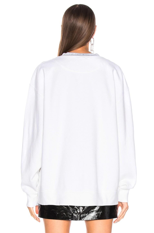 Image 4 of Acne Studios Yana Sweater in Optic White