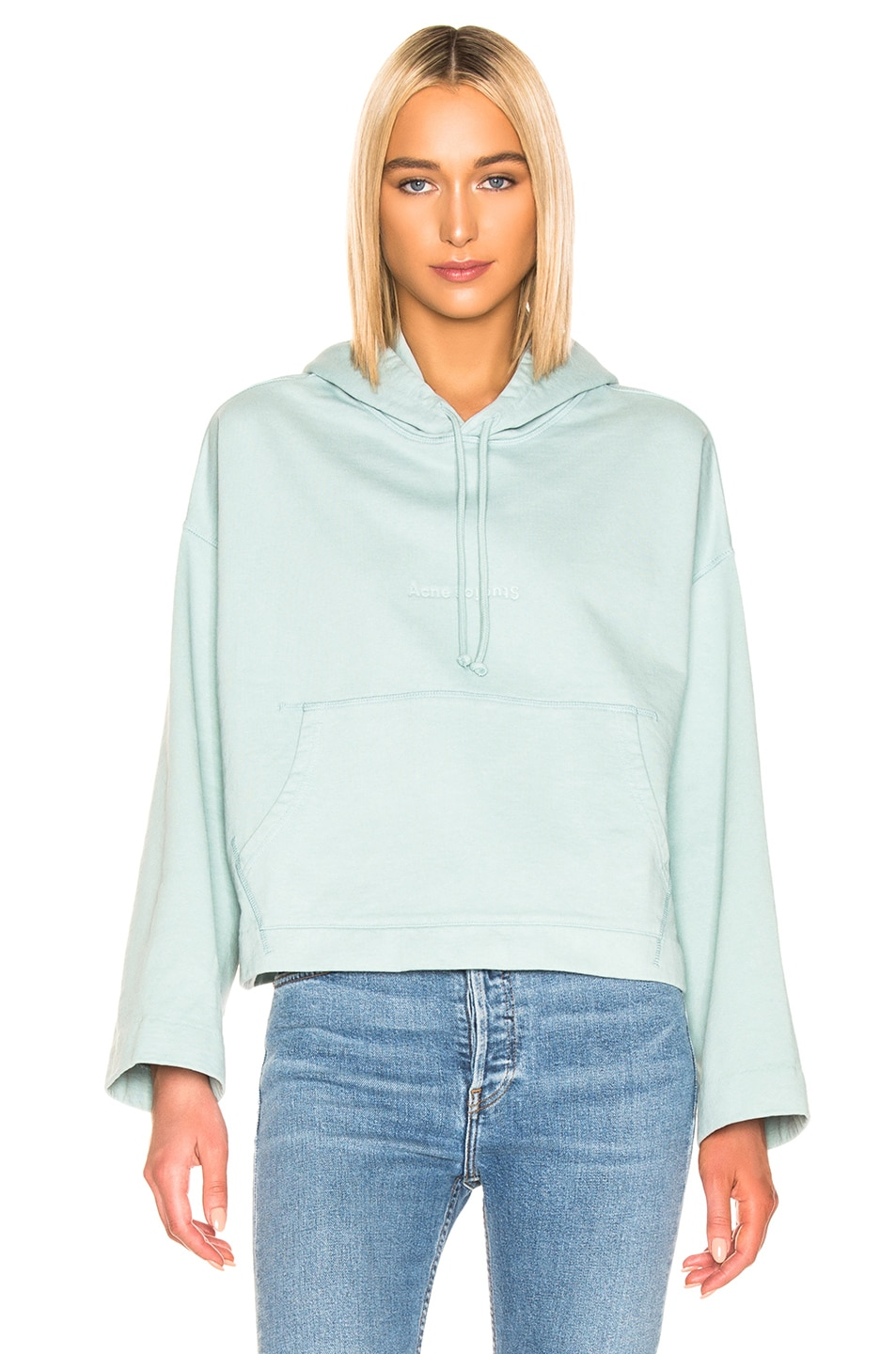 Image 1 of Acne Studios Joghy Sweatshirt in Light Blue