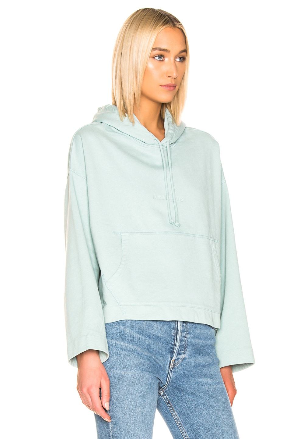 Image 2 of Acne Studios Joghy Sweatshirt in Light Blue