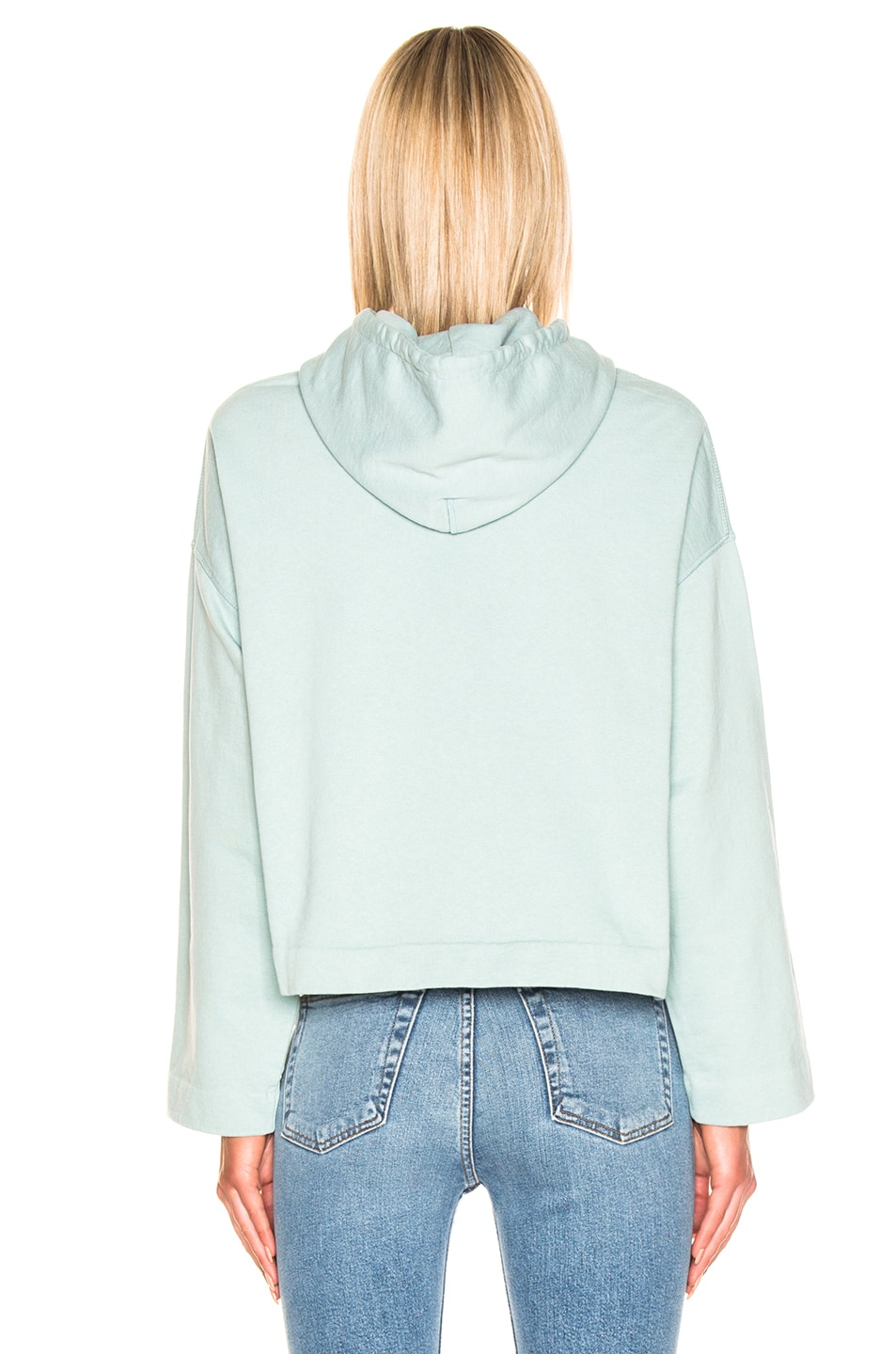 Image 3 of Acne Studios Joghy Sweatshirt in Light Blue