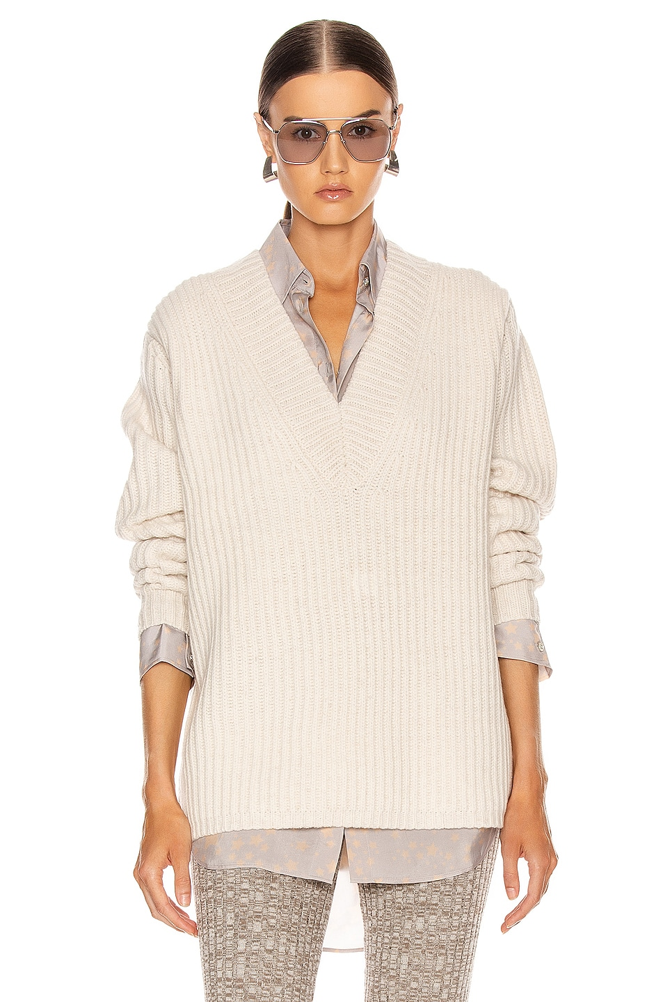 Image 1 of Acne Studios Keborah Sweater in Off White