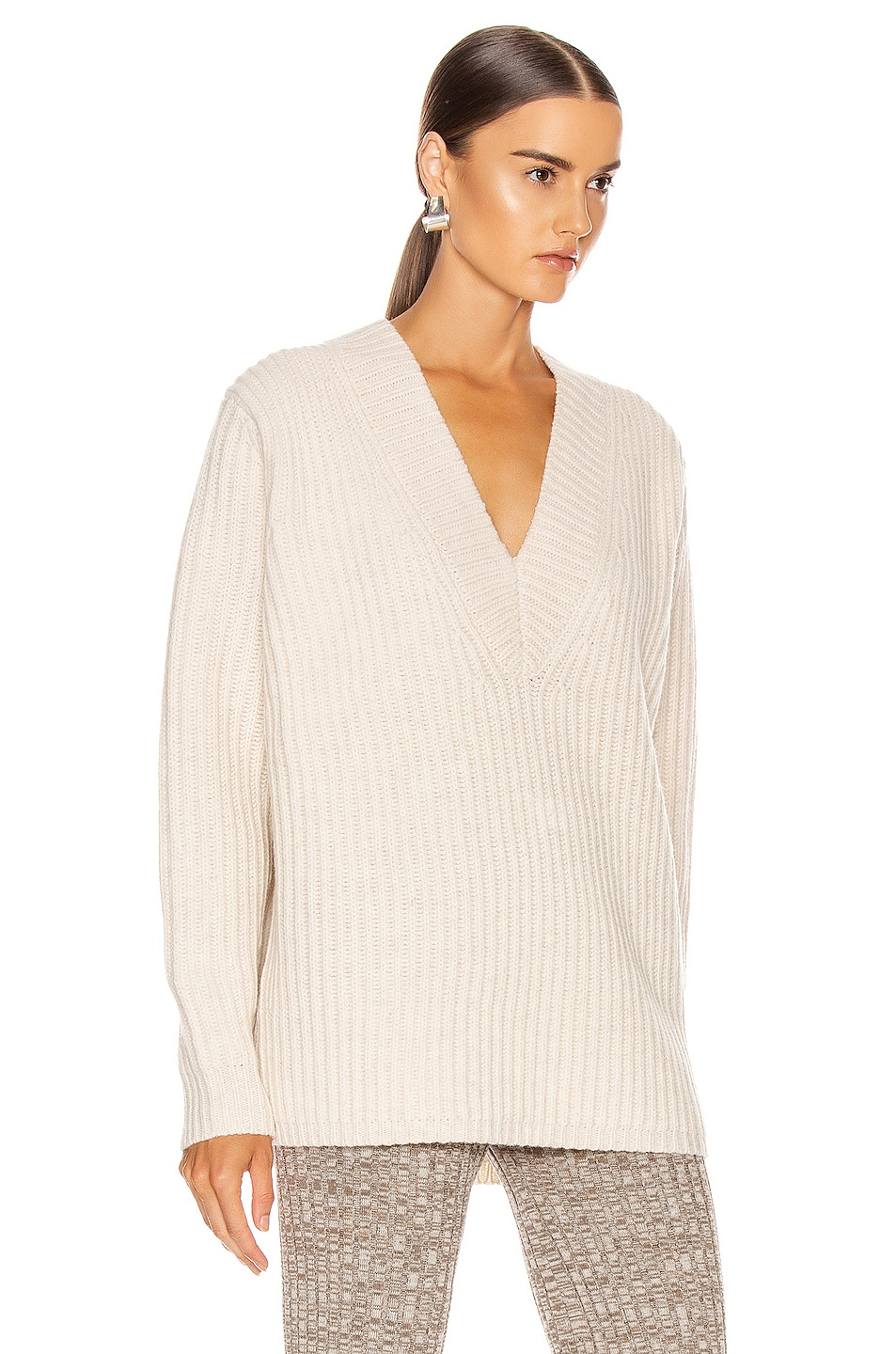 Image 2 of Acne Studios Keborah Sweater in Off White