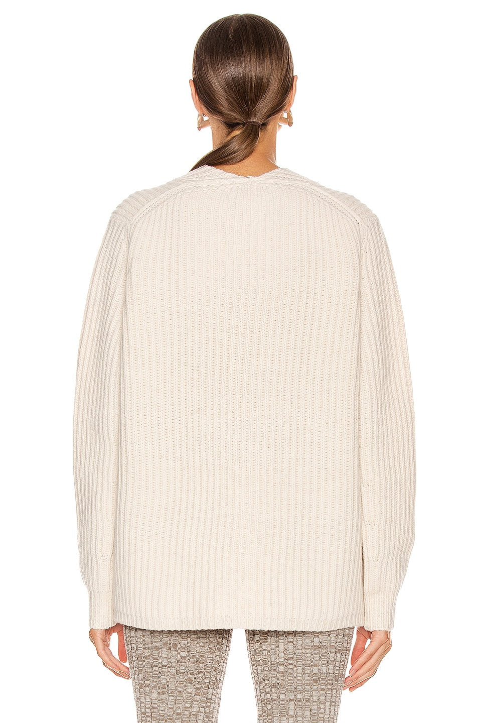Image 3 of Acne Studios Keborah Sweater in Off White