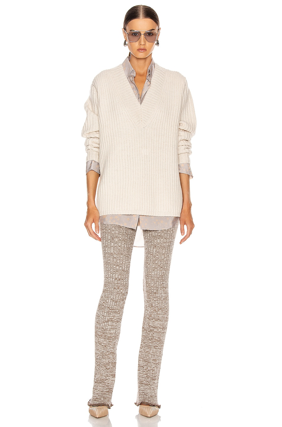 Image 4 of Acne Studios Keborah Sweater in Off White