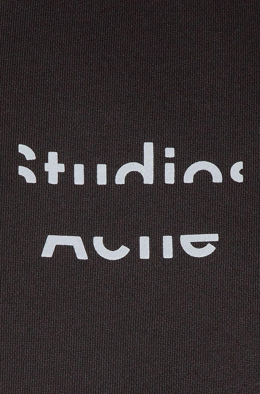 Image 5 of Acne Studios Fyono Logo Sweatshirt in Black