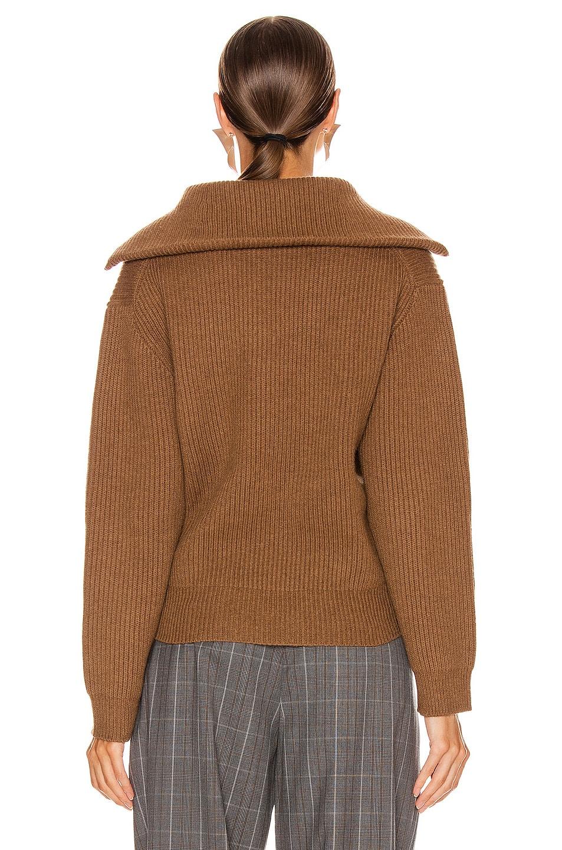 Image 3 of Acne Studios Kelanie Pullover Sweater in Toffee Brown