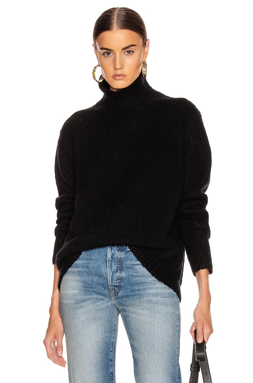 Image 1 of Acne Studios Kastrid Sweater in Black