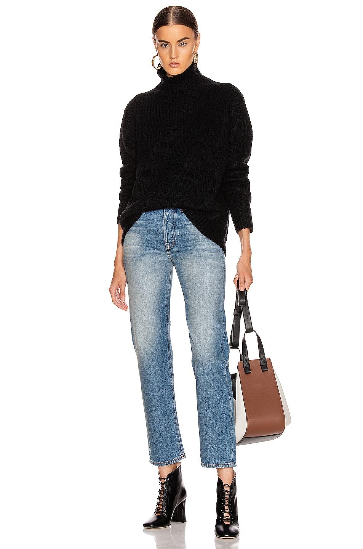 Image 4 of Acne Studios Kastrid Sweater in Black
