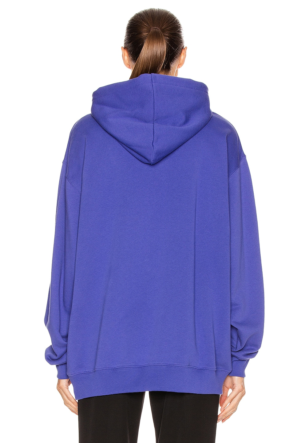 Image 3 of Acne Studios Face Sweatshirt in Electric Blue
