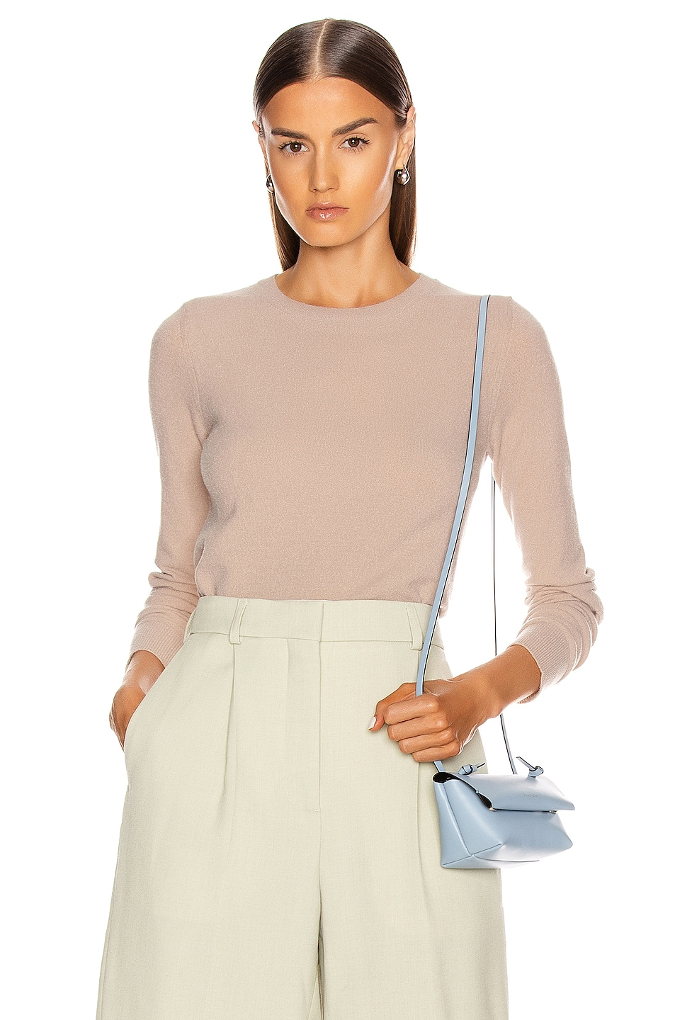 Image 1 of Acne Studios Towel Sweater in Hazel Beige