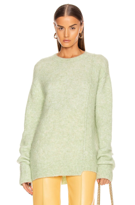 Image 1 of Acne Studios Alpaca Sweater in Pistachio Green