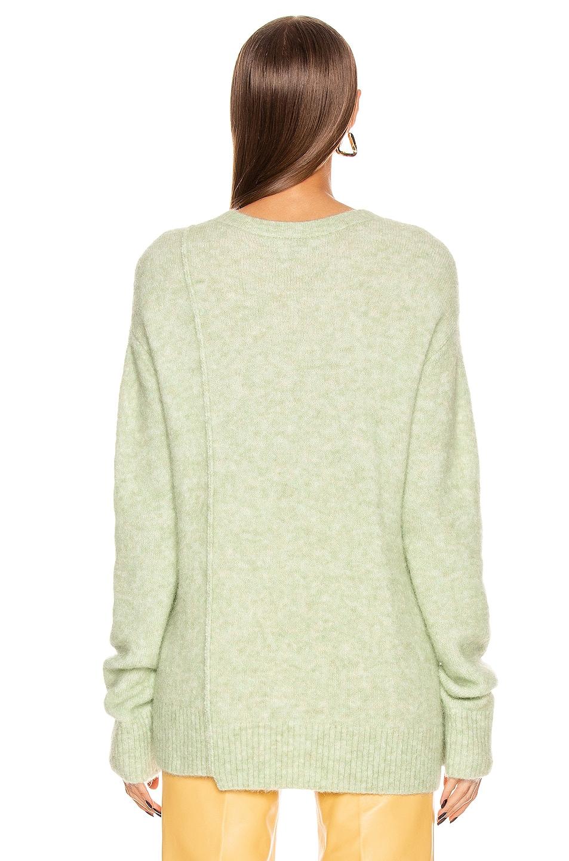 Image 4 of Acne Studios Kerna Alpaca Sweater in Pistachio Green