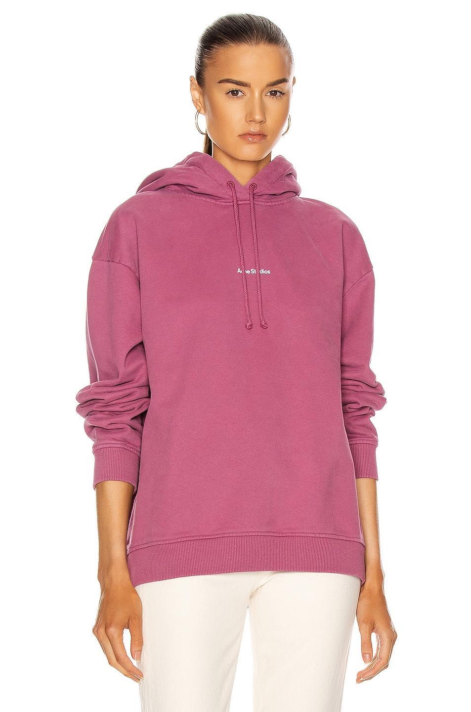 Image 1 of Acne Studios Feirdra Sweatshirt in Violet Pink