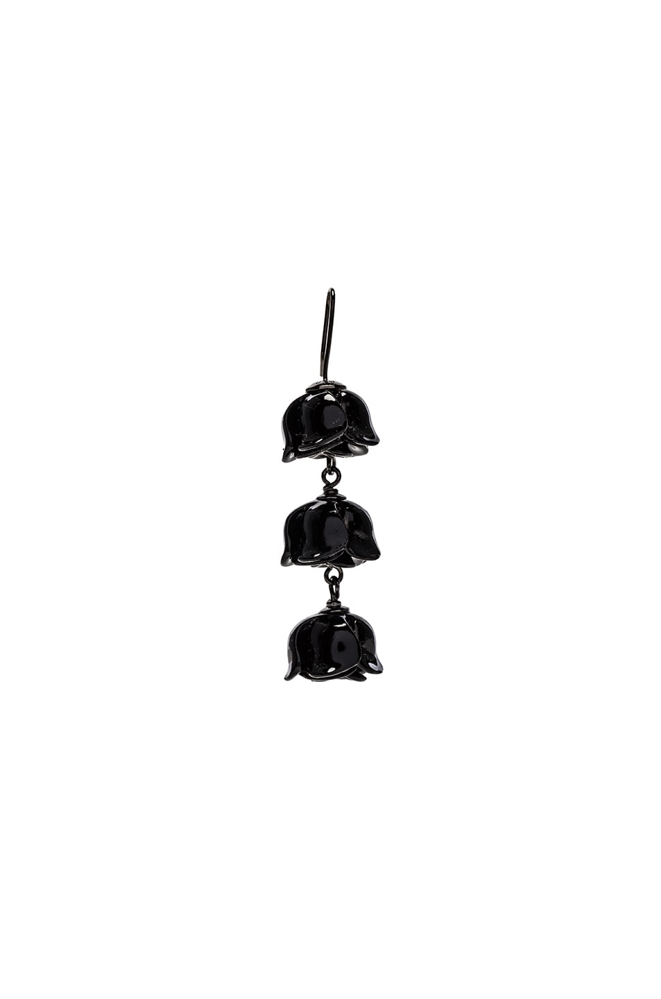 Image 1 of Acne Studios Connie Single Earring in Black