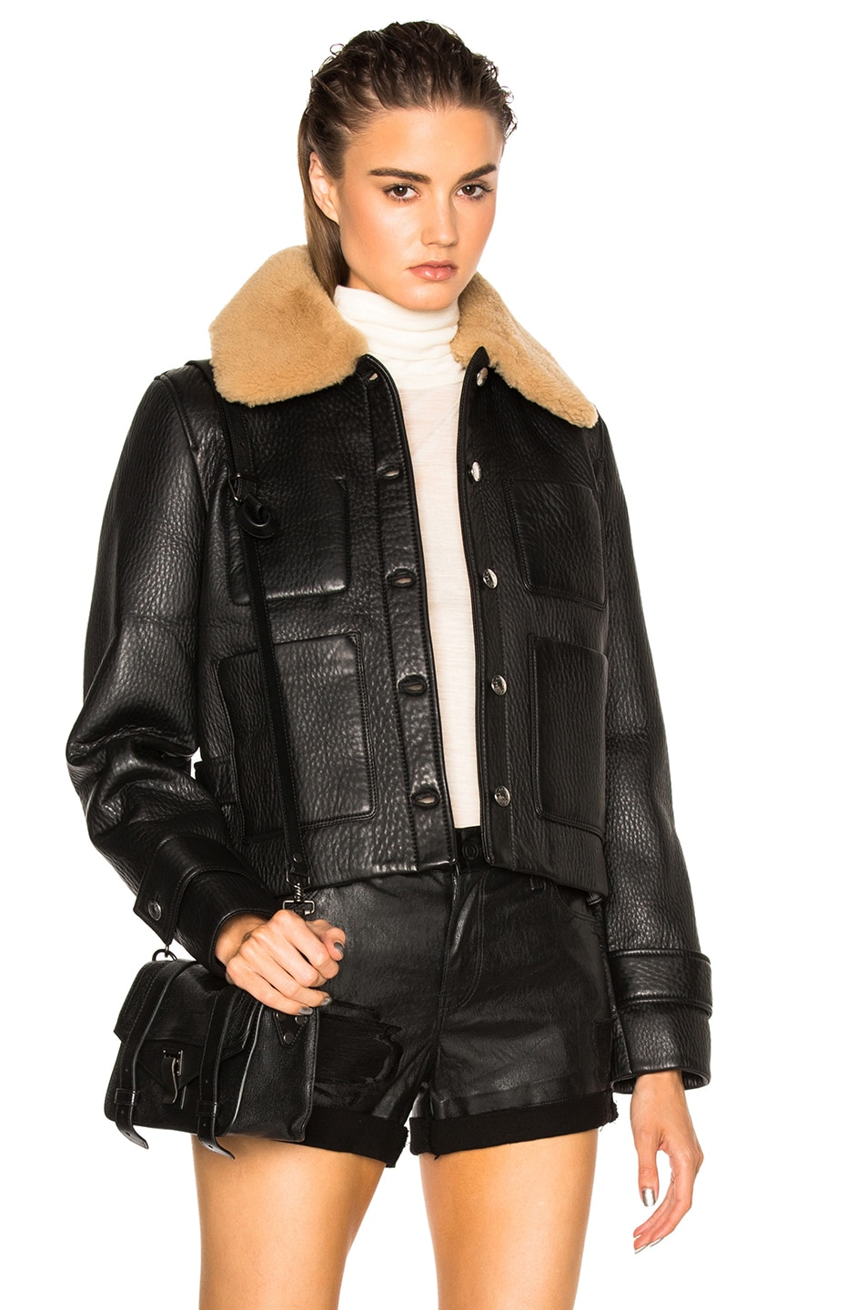 Image 1 of Acne Studios Felipa Jacket in Black