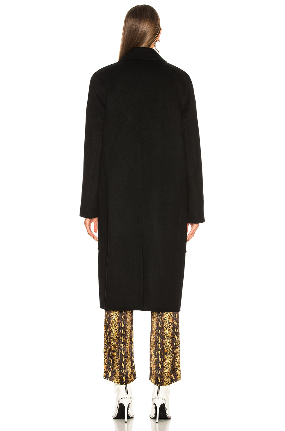 Image 5 of Acne Studios Carice Double Coat in Black