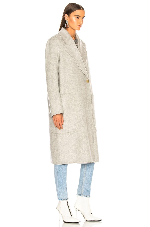 Image 4 of Acne Studios Carice Double Coat in Grey Melange