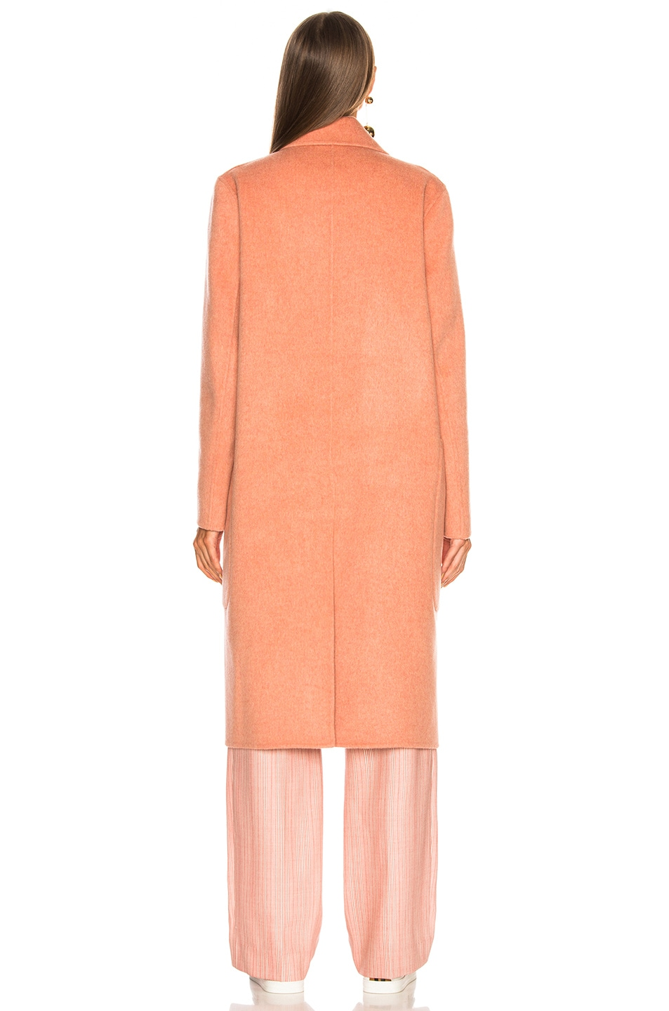 Image 5 of Acne Studios Carice Double Coat in Old Pink Melange