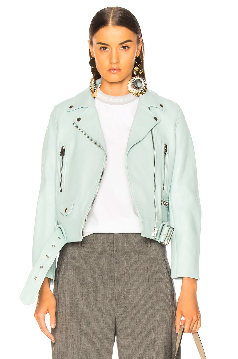 Image 1 of Acne Studios Mock Jacket in Pastel Green