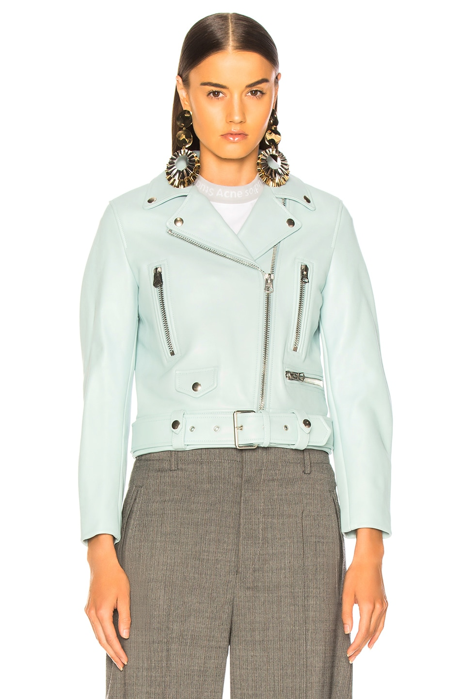 Image 2 of Acne Studios Mock Jacket in Pastel Green