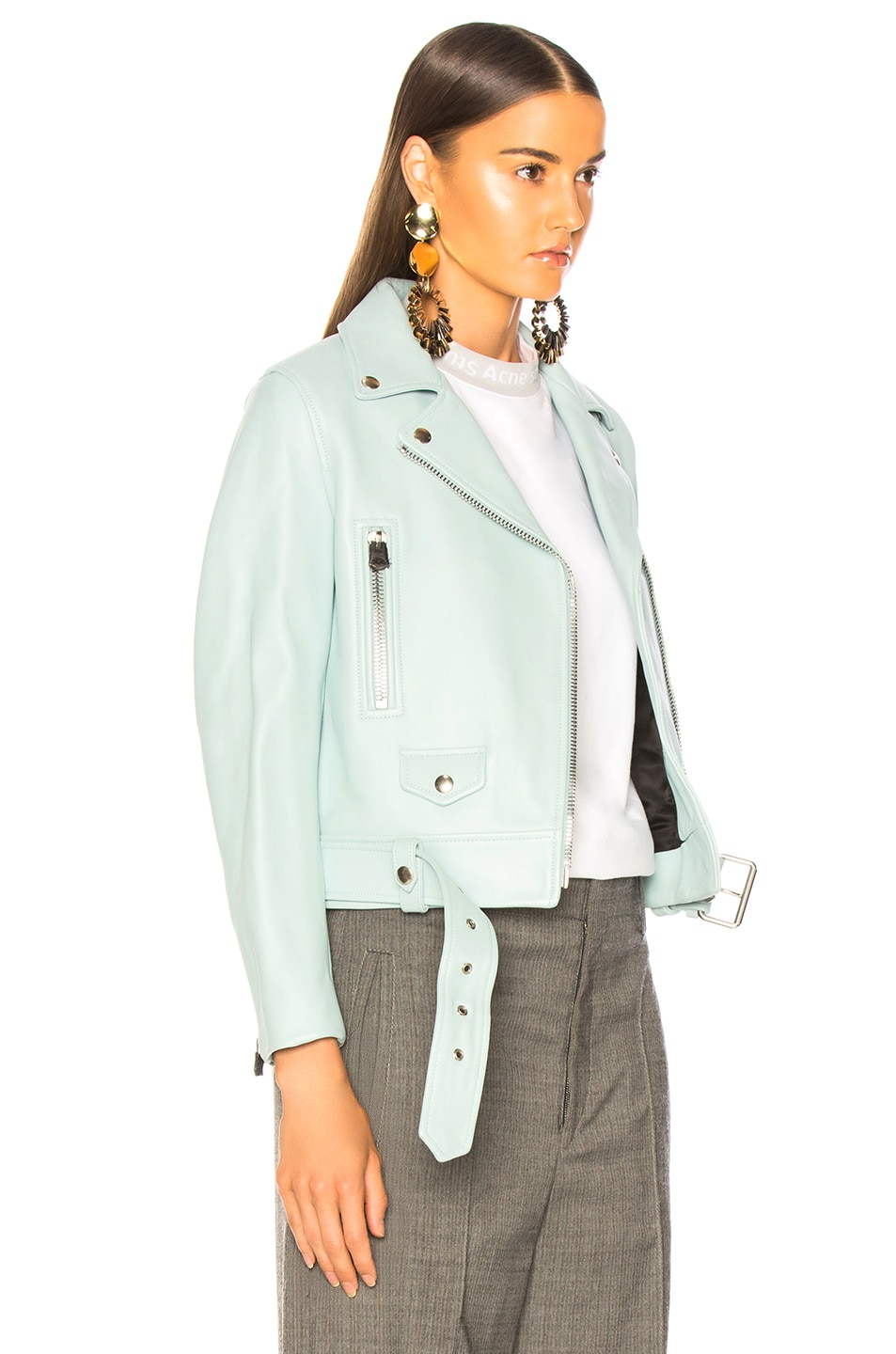 Image 3 of Acne Studios Mock Jacket in Pastel Green