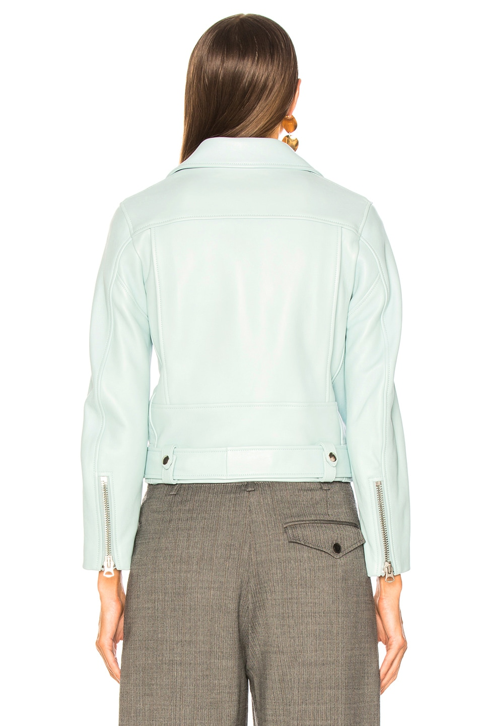 Image 4 of Acne Studios Mock Jacket in Pastel Green