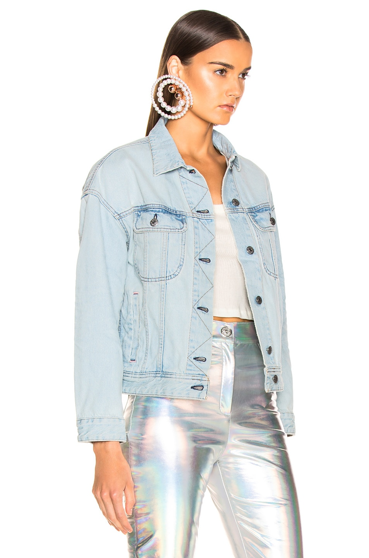 Image 2 of Acne Studios x Bla Konst Lamp Jacket in Light Blue