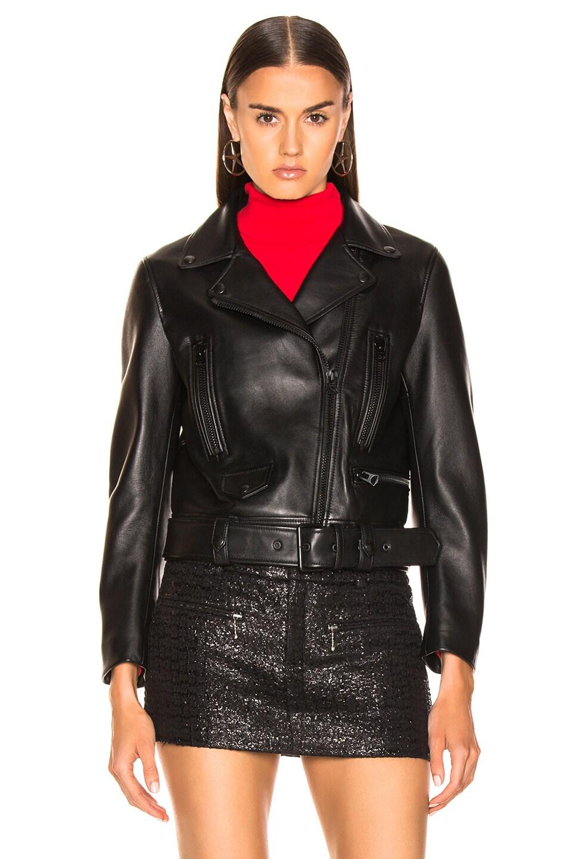 Image 2 of Acne Studios Mock Jacket in All Black