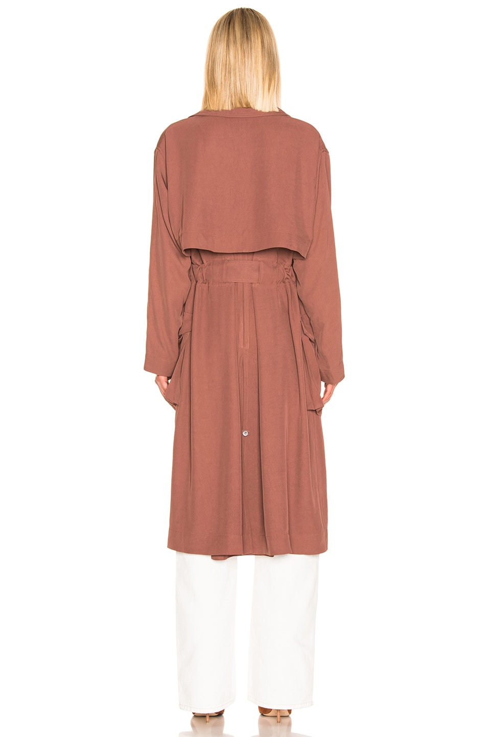 Image 4 of Acne Studios Olicia Coat in Dusty Pink