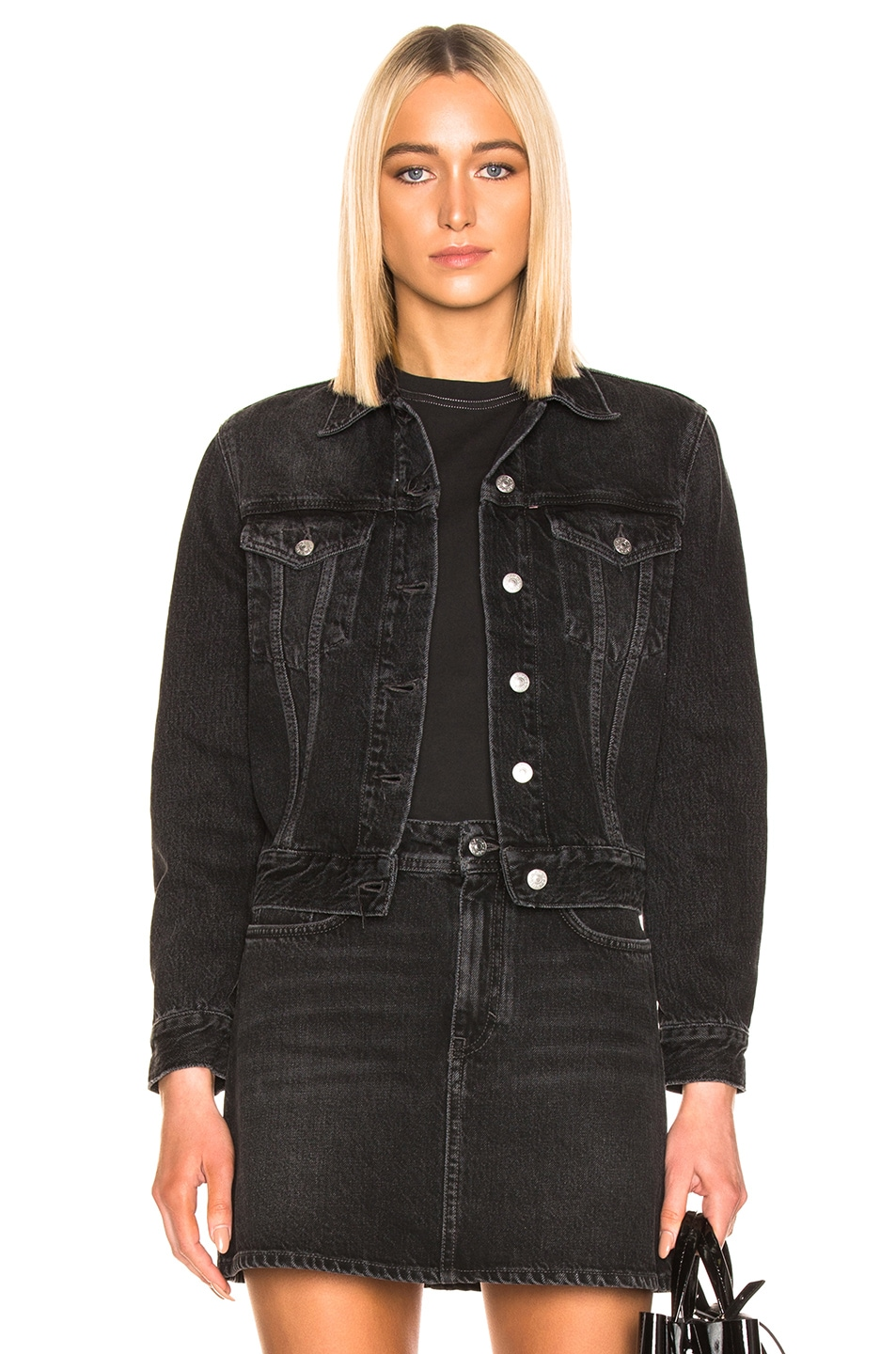Image 1 of Acne Studios 1999 Denim Jacket in Black