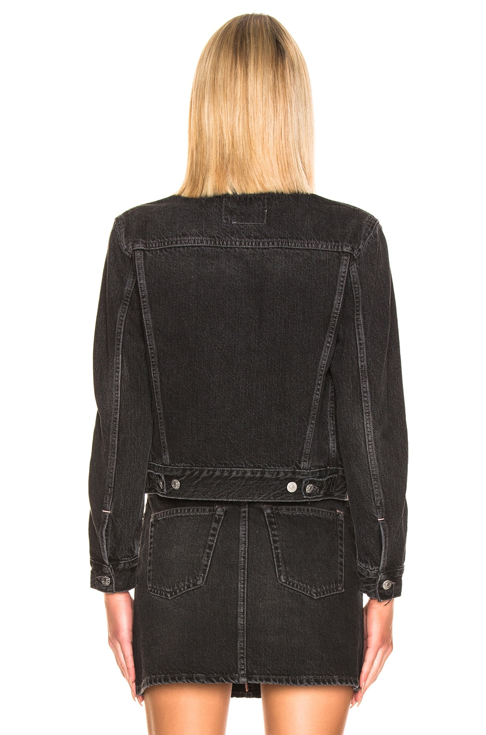 Image 3 of Acne Studios 1999 Denim Jacket in Black