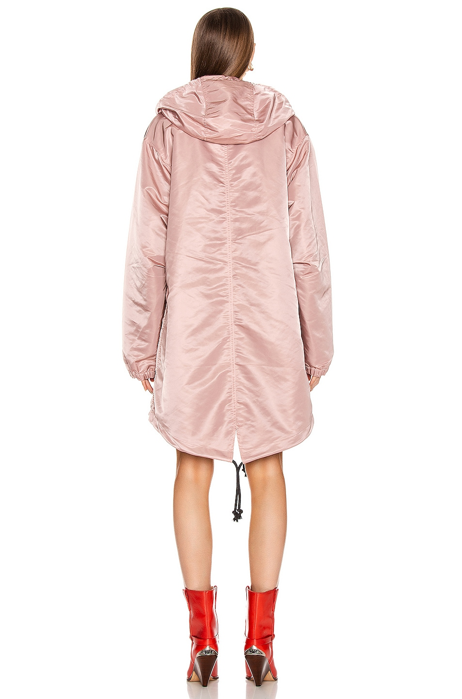 Image 4 of Acne Studios Osborn Face Jacket in Dusty Pink