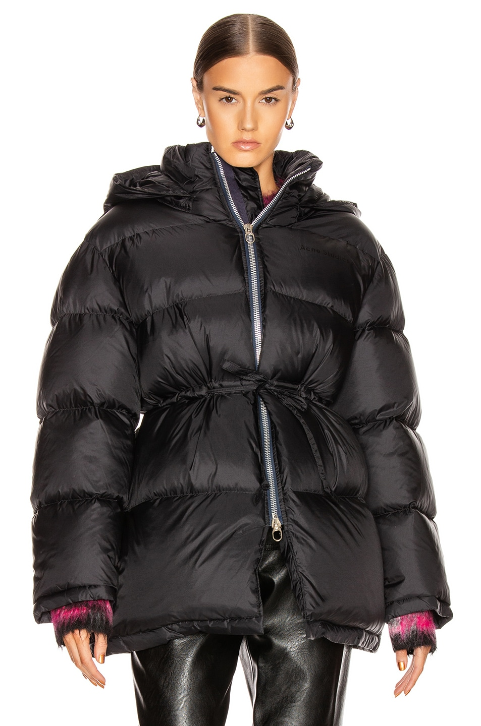 Image 2 of Acne Studios Down Jacket in Black