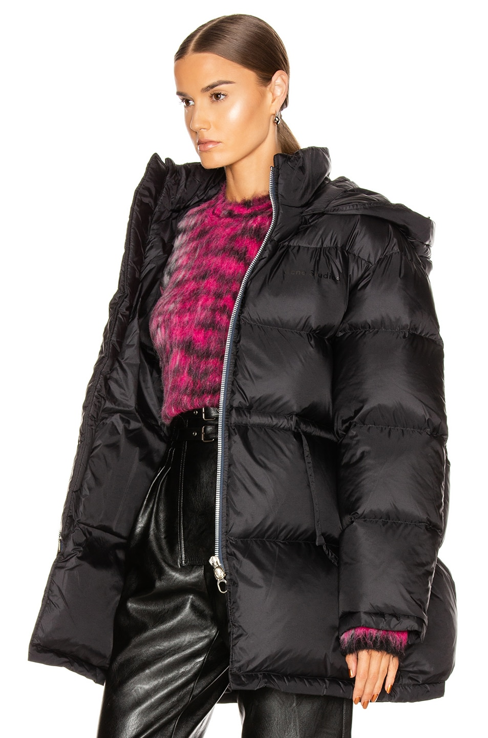 Image 4 of Acne Studios Down Jacket in Black