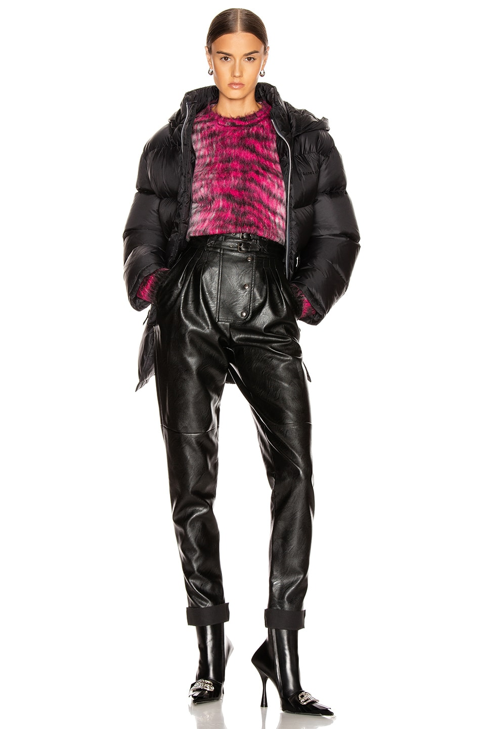 Image 6 of Acne Studios Down Jacket in Black