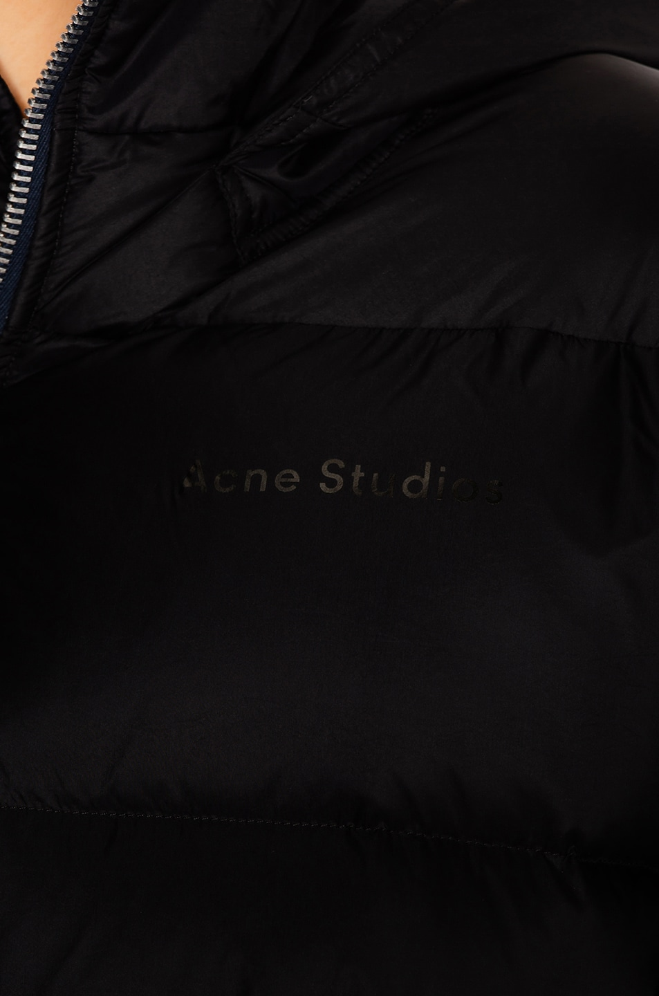 Image 7 of Acne Studios Down Jacket in Black