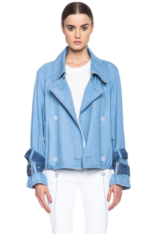 895333e04 Acne Studios Joan Cotton Jacket in Light Denim | FWRD